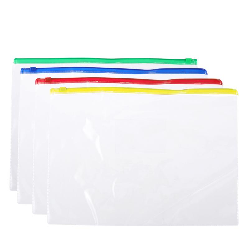 40 шт карманы для файлов a5 ПВХ на молнии органайзер документов