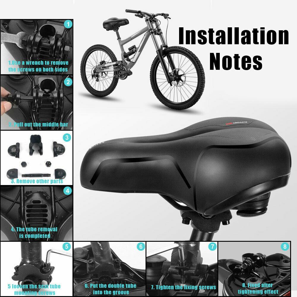 Touren Sattel Fahrradsattel Fahrrad Sattel Damen Herren Bicycle Bike Seat Foam