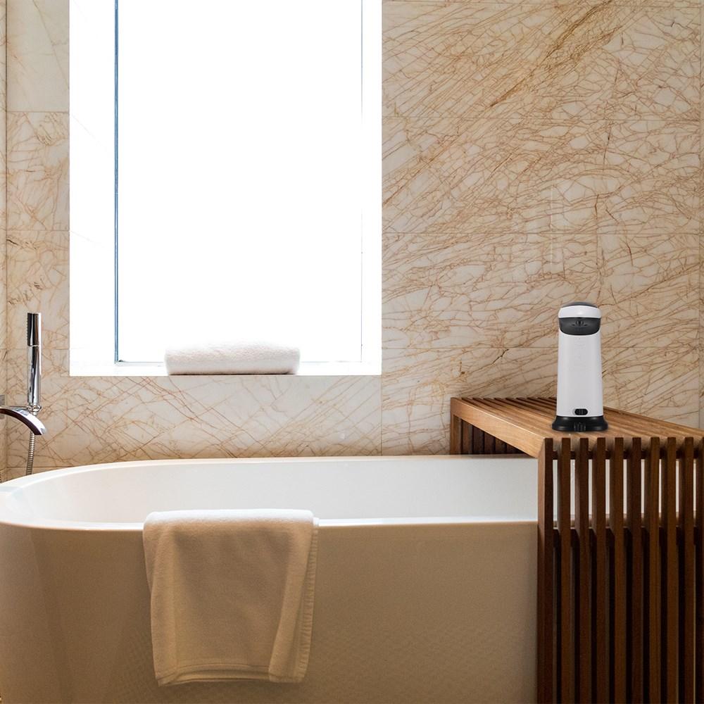 420ml automatische seifenspender wand ir sensor. Black Bedroom Furniture Sets. Home Design Ideas