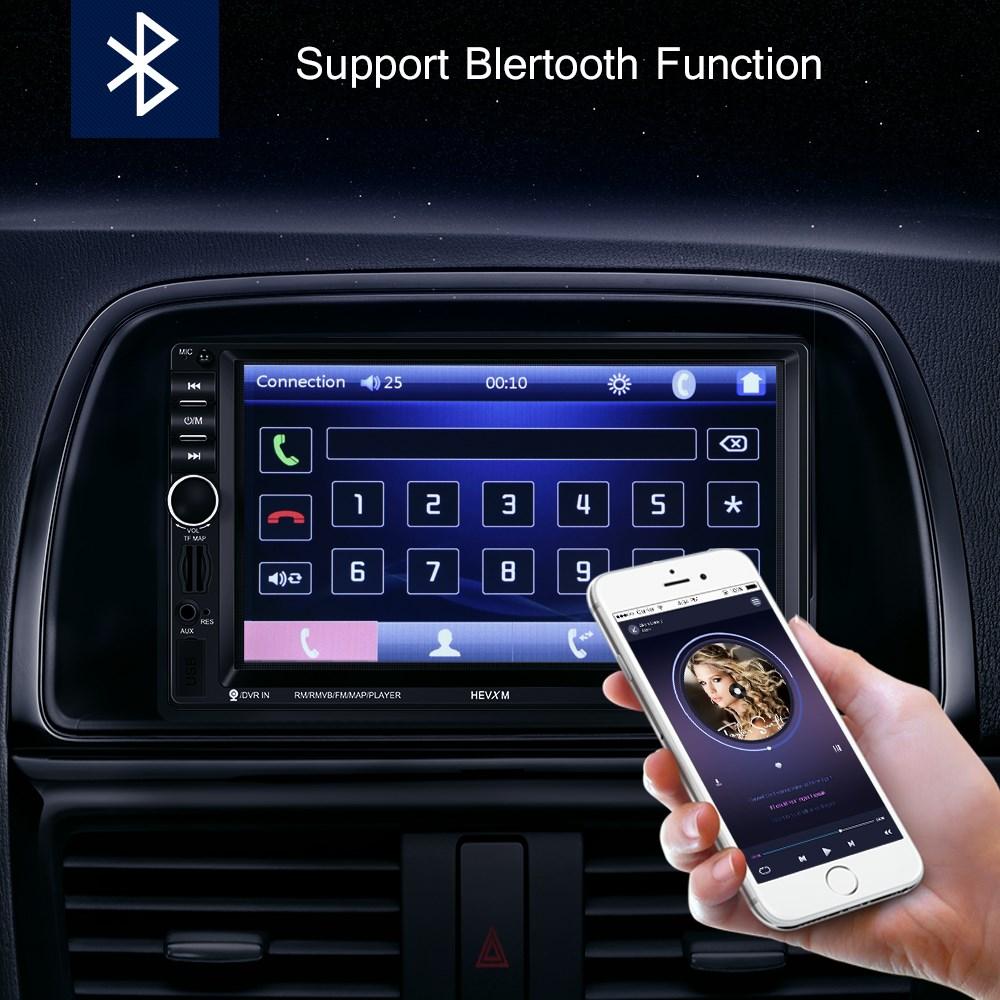 7zoll autoradio mit navigation navi bluetooth usb gps 2. Black Bedroom Furniture Sets. Home Design Ideas