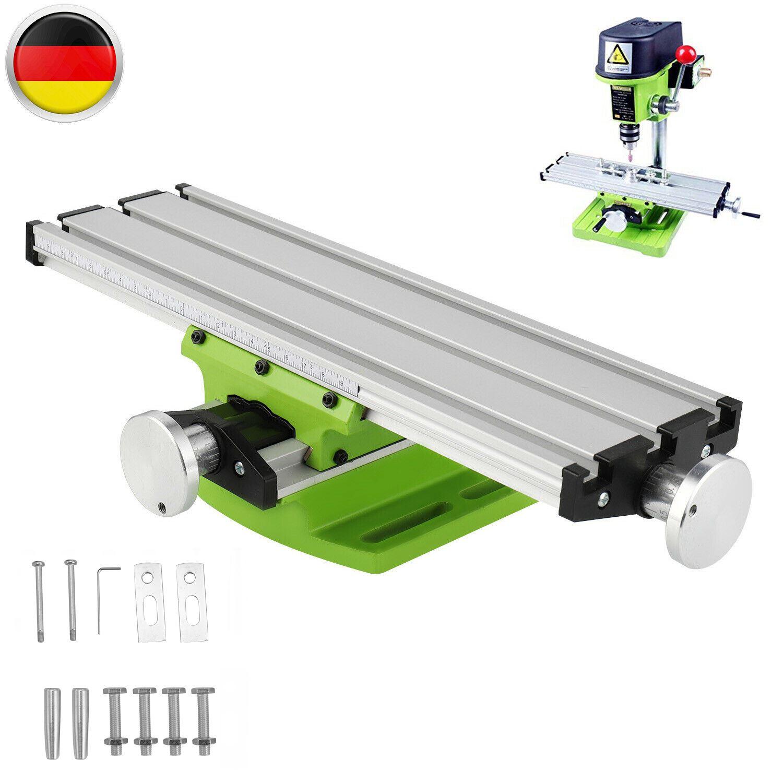 310x90mm Kreuztisch Frästisch Koordinatentisch Bohrtisch Schraubstock Support