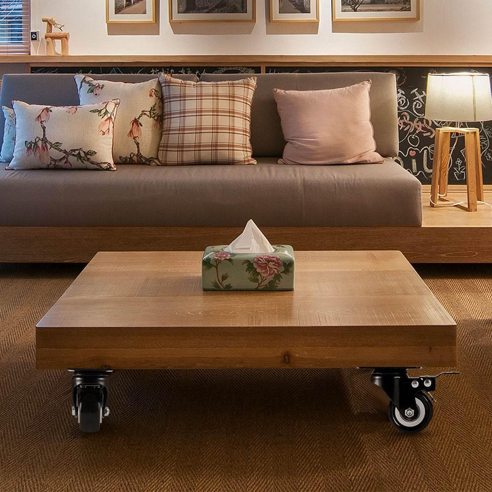 4 Stück Transportrollen Vollgummirollen Schwerlastrollen Für Möbel Sofas Sessel