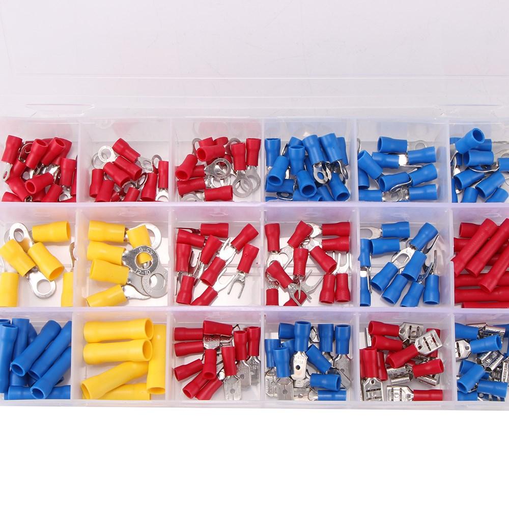 800 x Kabelschuhe Kabelschuhzange Set Crimpzange Quetschverbinder