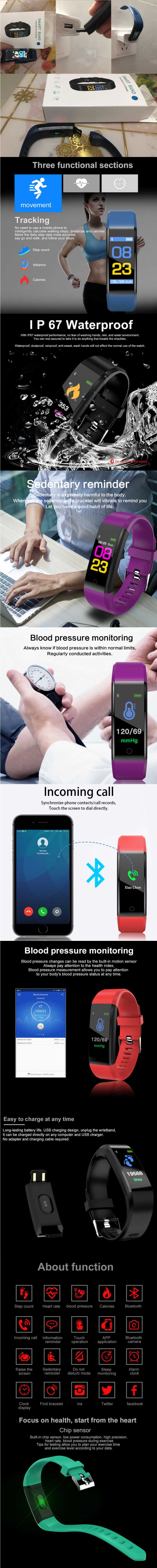 Details about Bluetooth Smart Watch w/Camera Waterproof Phone Mate for  Samsung iPhone Sony Lot