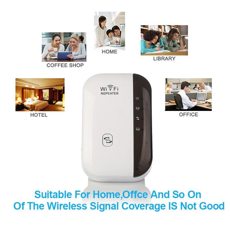 300mbp wifi repeater wireless wlan signal verst rker. Black Bedroom Furniture Sets. Home Design Ideas