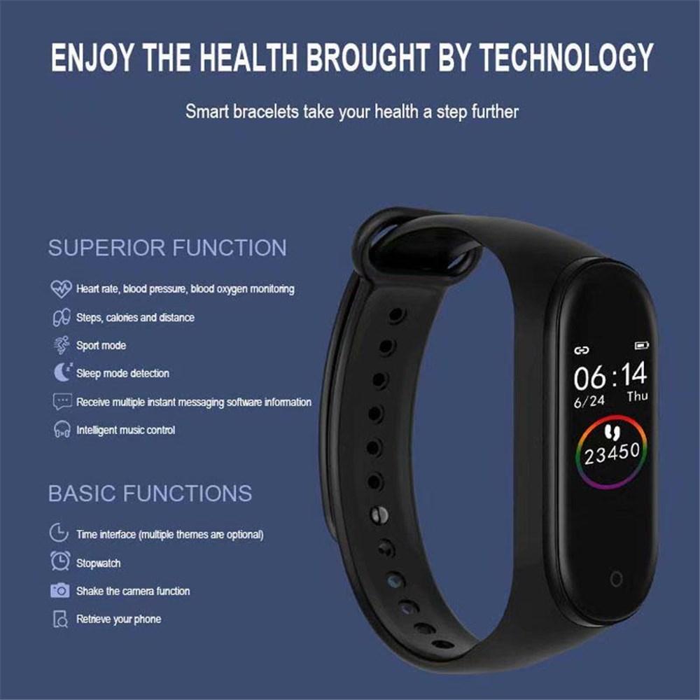 Smartwatch Armband Schrittzähler Pulsuhr Blutdruck Sport..
