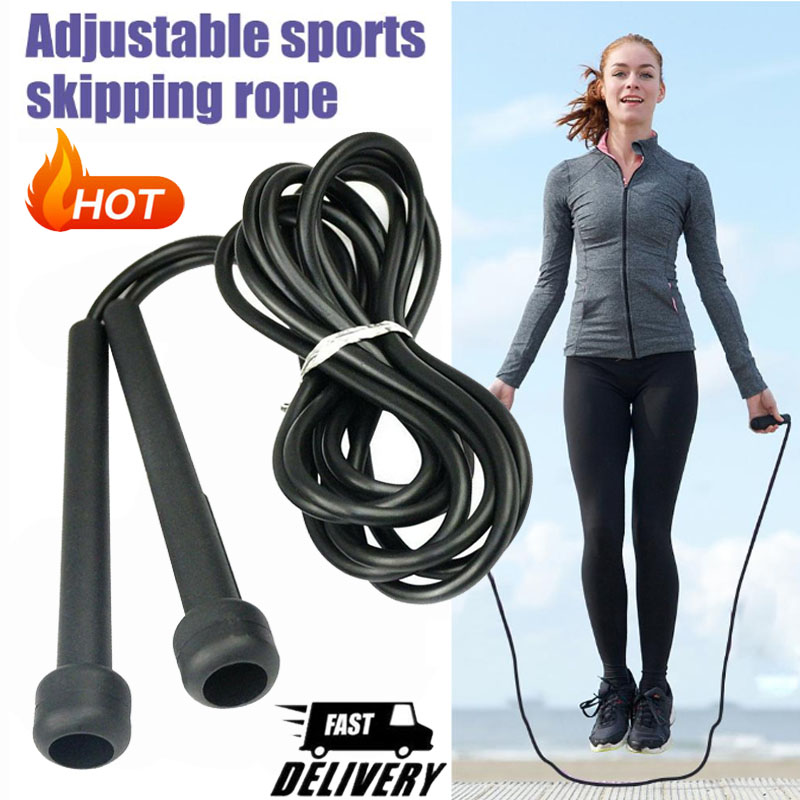 Skipping Rope Jump Speed Exercise Boxing Gym Fitness Workout 2.6m 8.5FT Strength